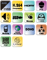 AHD видеорегистратор Provision-ISR SA-8200AHD-2L(MM)