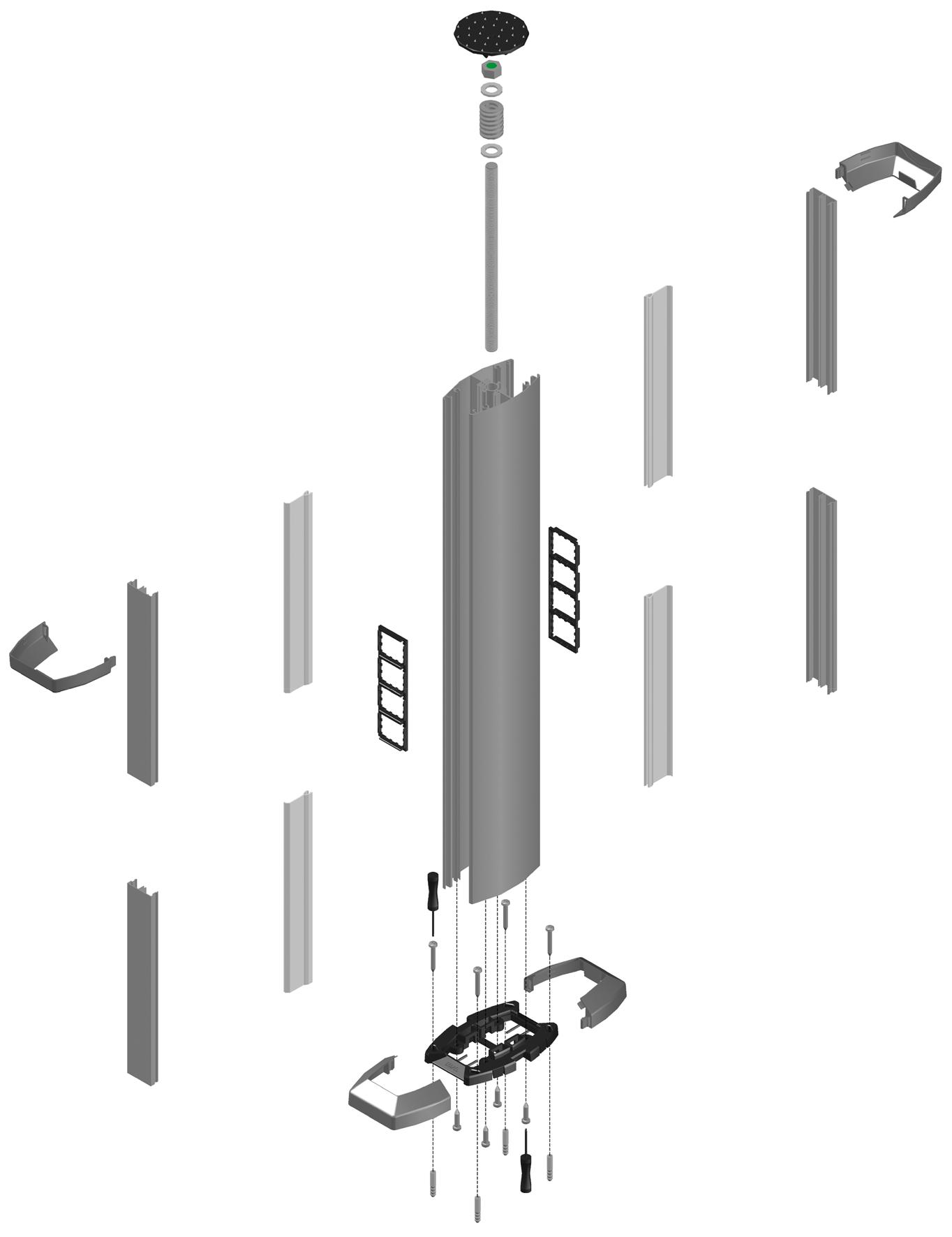 Колонны и миниколонны EFAPEL