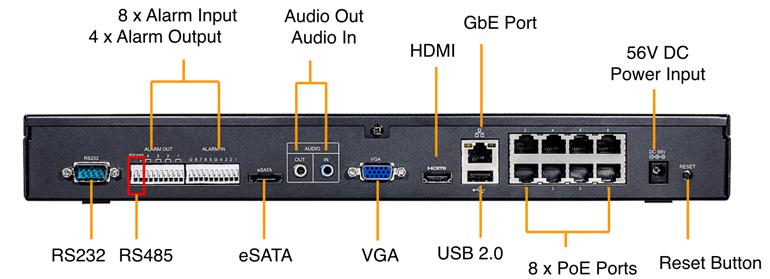 Сетевой видеорегистратор VIVOTEK ND8322P